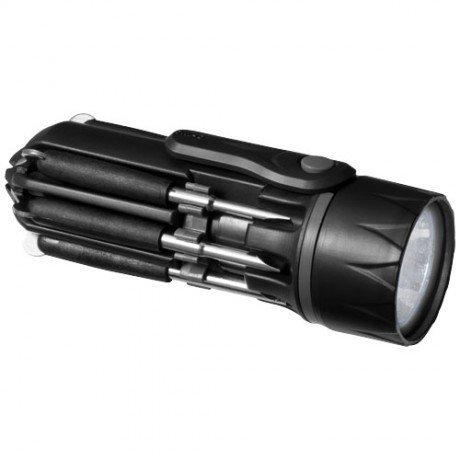 Destornillador 8 en 1 con linterna Spidey